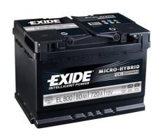 Аккумулятор Exide Micro-hybrid ECM EL800 80 а/ч
