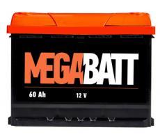 Аккумулятор Mega Batt 6СТ-60АзЕ 60 А/ч