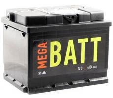 Аккумулятор Mega Batt 6СТ-55АзЕ 55 А/ч
