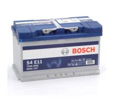 Аккумулятор Bosch S4 Silver E11 80 А/ч