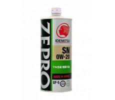 Масло моторное Idemitsu Zepro Eco Medalist 0W-20 1л