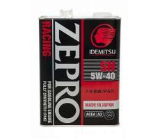 Масло моторное Idemitsu Zepro Racing 5W-40 4л