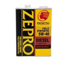 Масло моторное Idemitsu Zepro Fully Synthetic 5W-40 4л