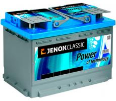Аккумулятор Jenox Classic 12V (R+) 74 А/ч