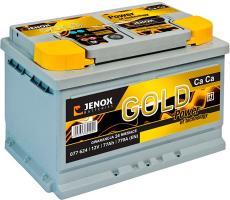 Аккумулятор Jenox Gold 12V (R+) 77 А/ч