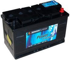Аккумулятор Jenox Classic 12V (R+) 120 А/ч