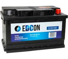 Аккумулятор Edcon DC80740R 80 А/ч