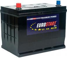 Аккумулятор Eurostart Blue ASIA (L+) 70 А/ч