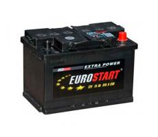 Аккумулятор Eurostart Extra Power (R+) 75 А/ч