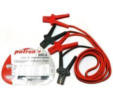 Провода для прикуривания в сумке Patron 600А