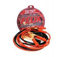 Провода для прикуривания в сумке Felix 200А